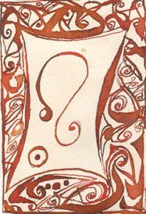 Loewe: Kalligraphie von Martin Sebastian Moritz