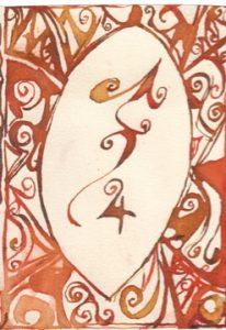 Schuetze: Kalligraphie von Martin Sebastian Moritz