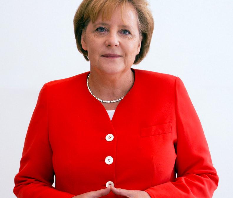 Saturn macht Angela Merkel zum Fels in der Brandung