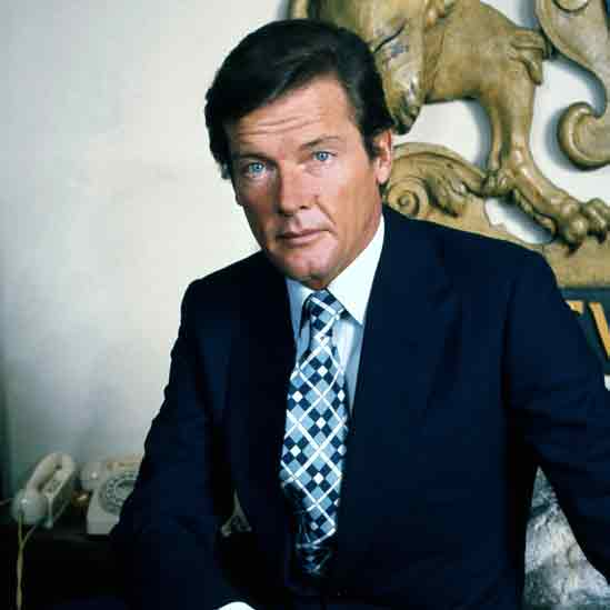 Sir Roger Moore (1927 – 2017) Der coole Gentleman