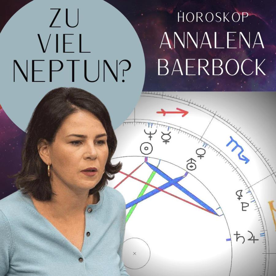 Horoskop Annalena Baerbock Psychologische Astrologie Martin Sebastian Moritz Berlin Hamburg