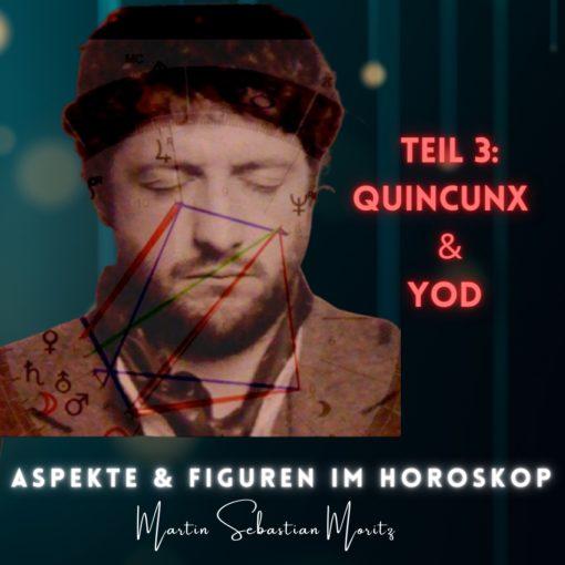 Aspekte und Figuren im Horoskop Quincunx und Yod Psychologische Astrologie Martin Sebastian Moritz Berlin Hamburg